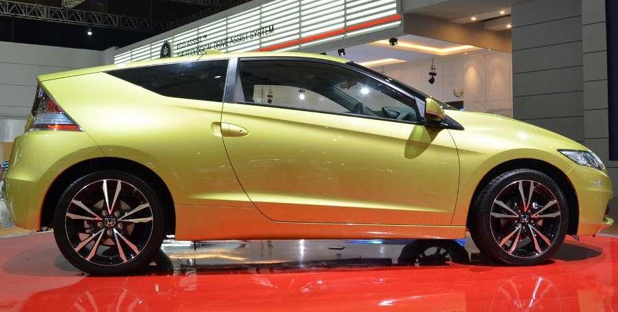 фото Honda CR-Z 2013 сбоку