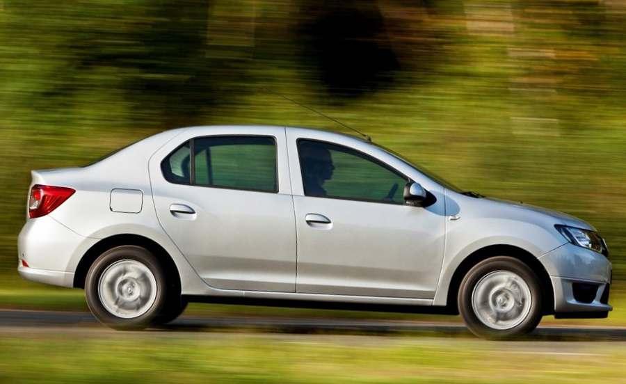 фото Renault Logan 2 сбоку