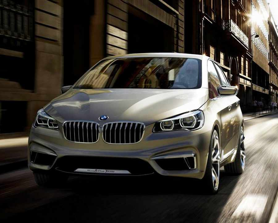 концепт BMW Active Tourer 2012
