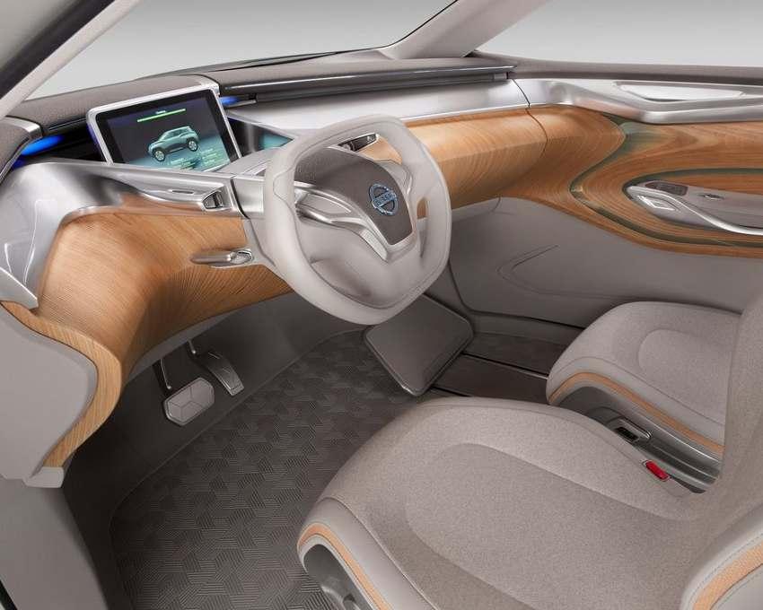салон Nissan TeRRA