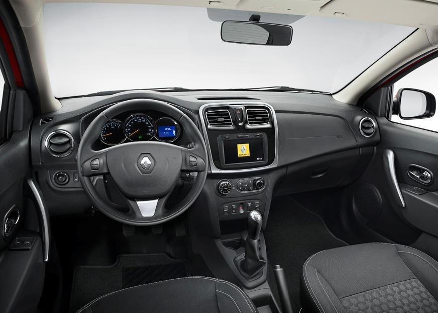 салон Renault Sandero 2015