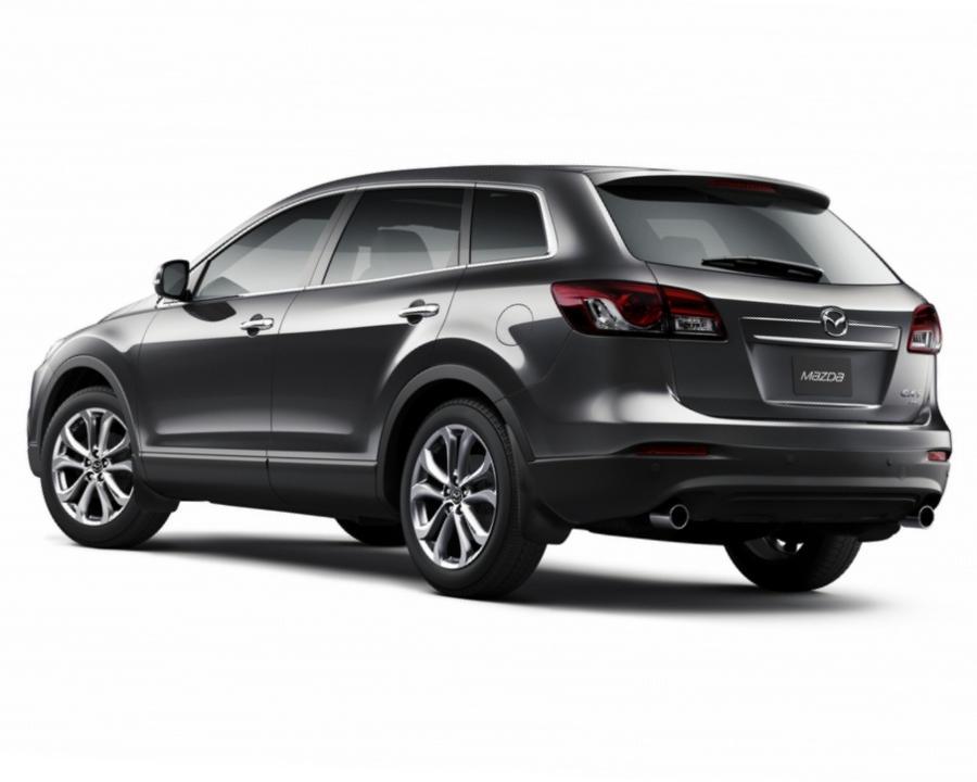 задний бампер новой Mazda CX-9 2013