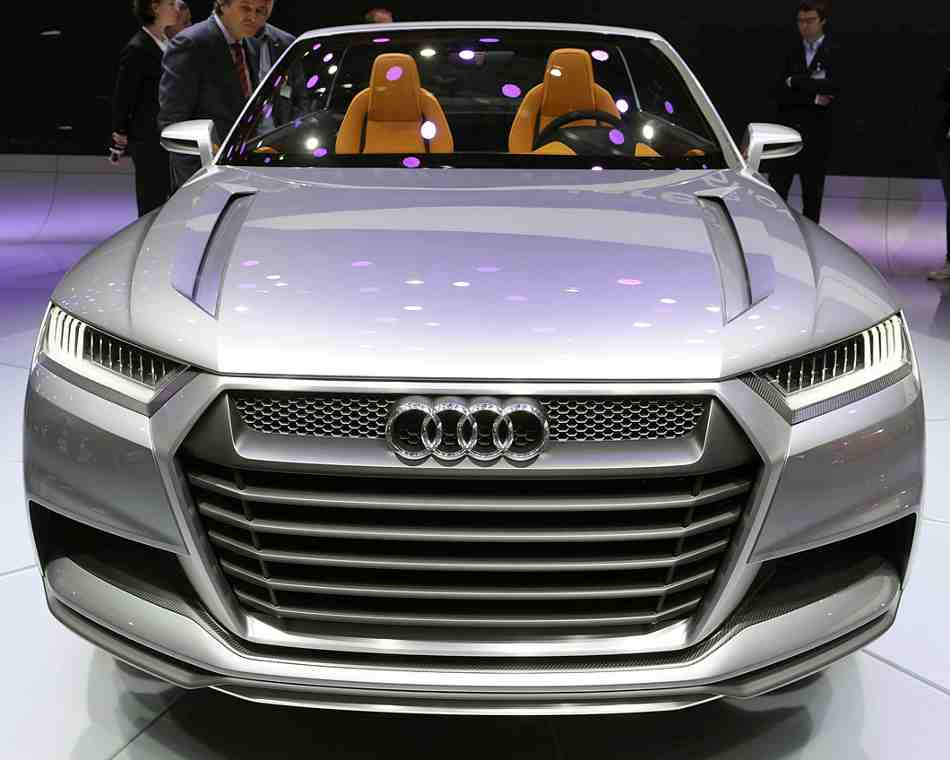 Audi Crosslane Coupe 2012