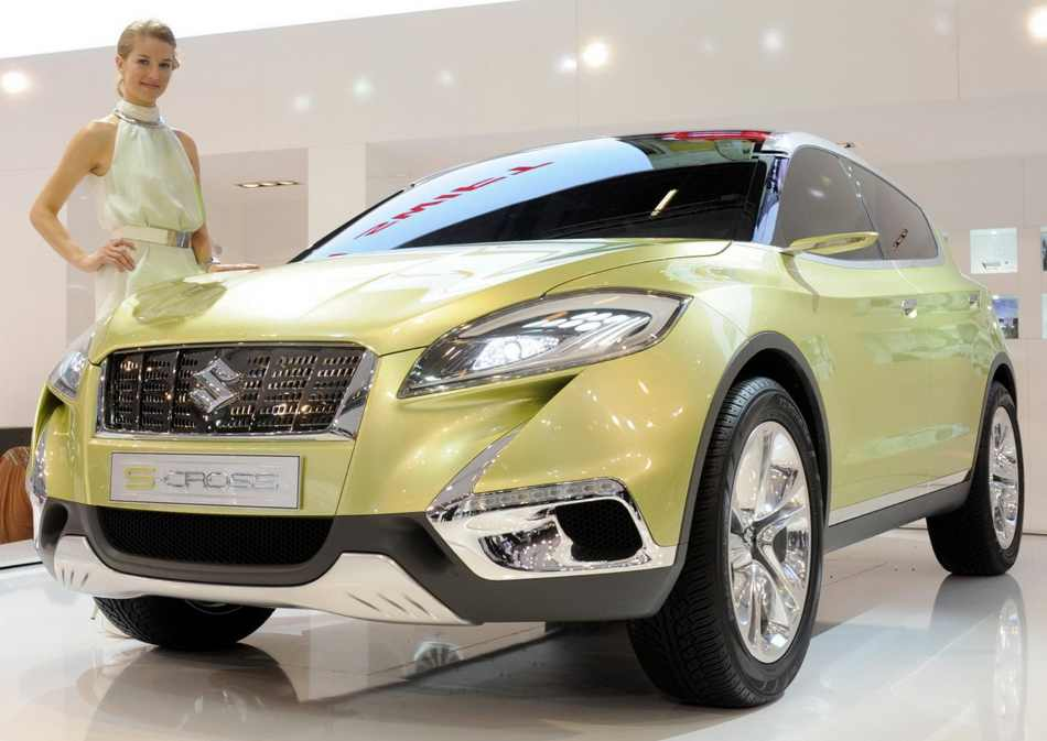 Бампер и фары Suzuki S-Cross 2012