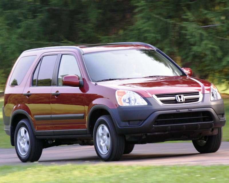 Honda CR-V 2002-2006 годов