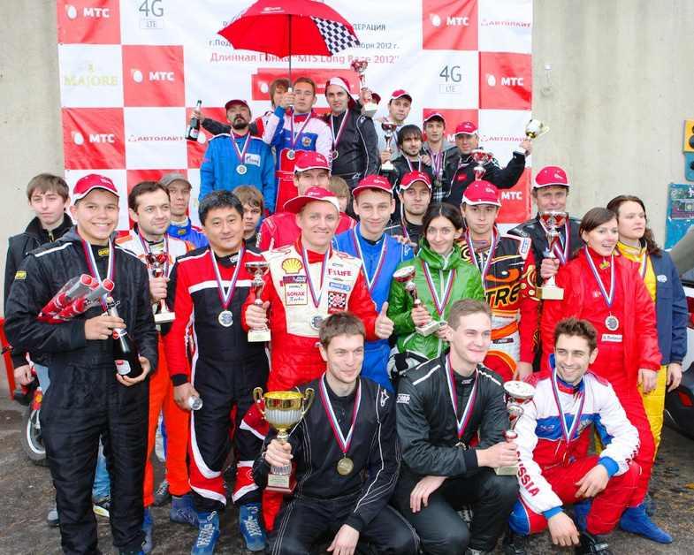 MTS Long Race 2012 - Победители