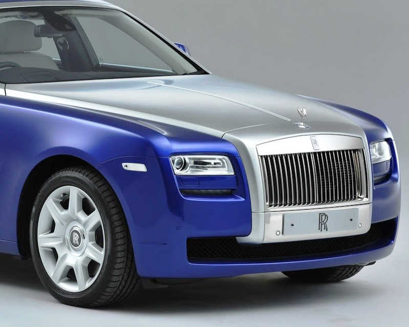 Решетка радиатора Rolls-Royce Ghost 2013