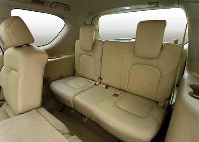 Салон Nissan Patrol Titanium 2013