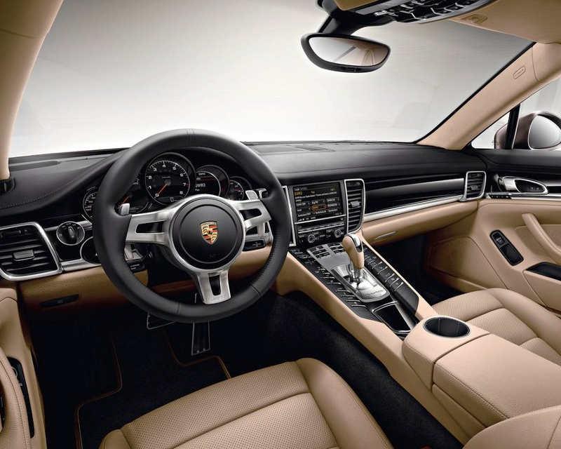 Салон Porsche Panamera Platinum Edition 2013