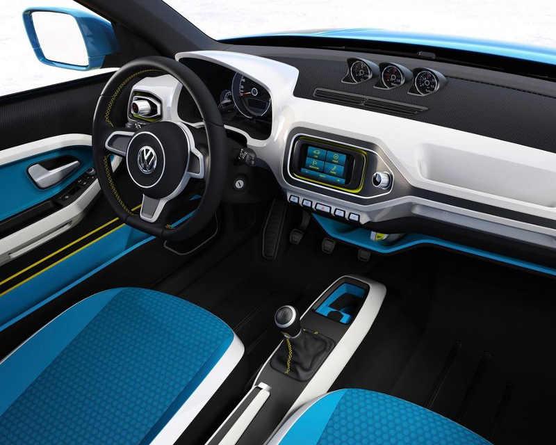 Салон Volkswagen Taigun 2012