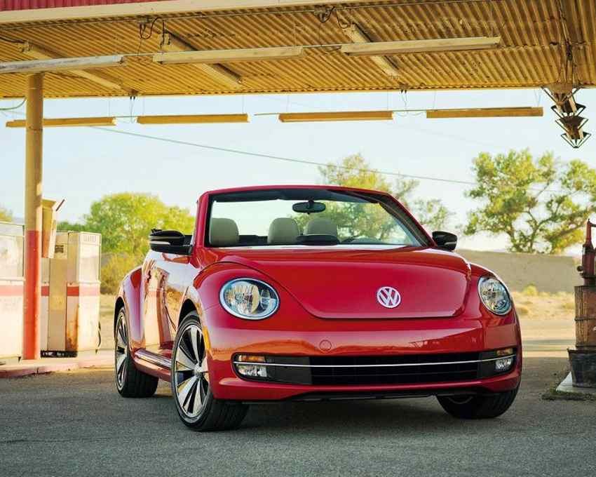 фото Volkswagen Жук Кабриолет 2013