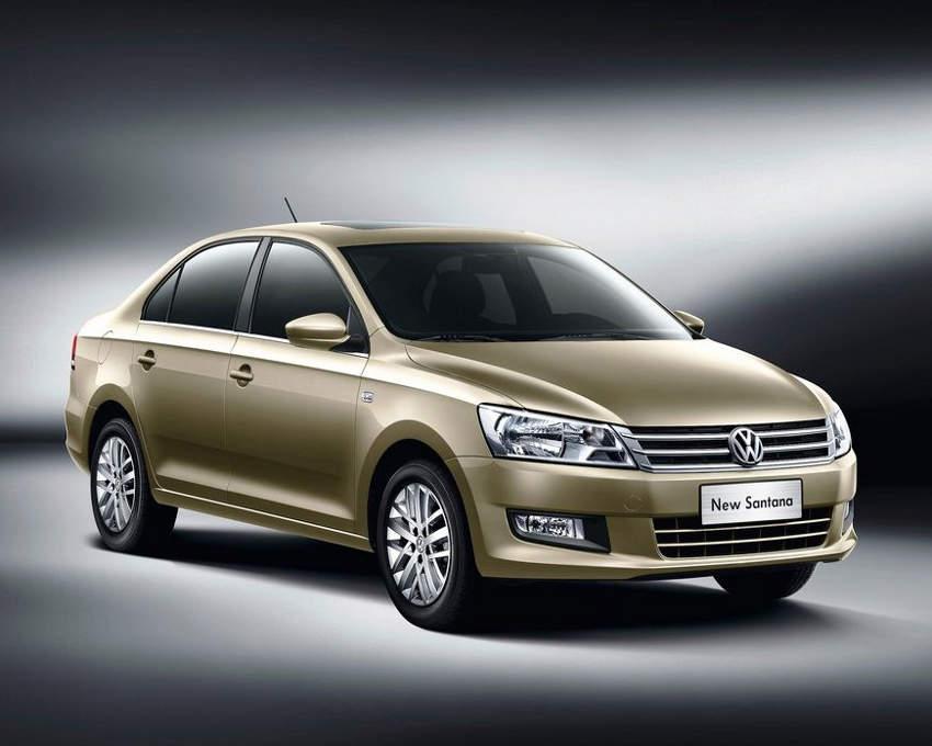 Volkswagen Santana 2013