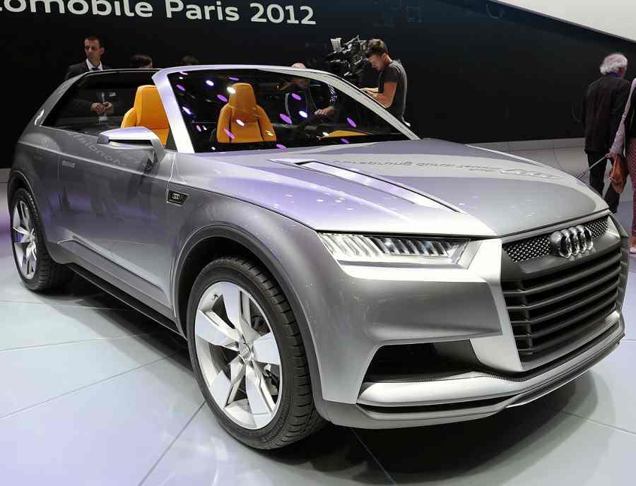 фары и бампер Audi Crosslane Coupe 2012
