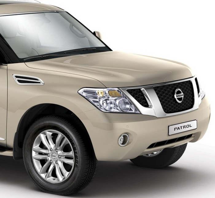 фары и капот Nissan Patrol Titanium 2013