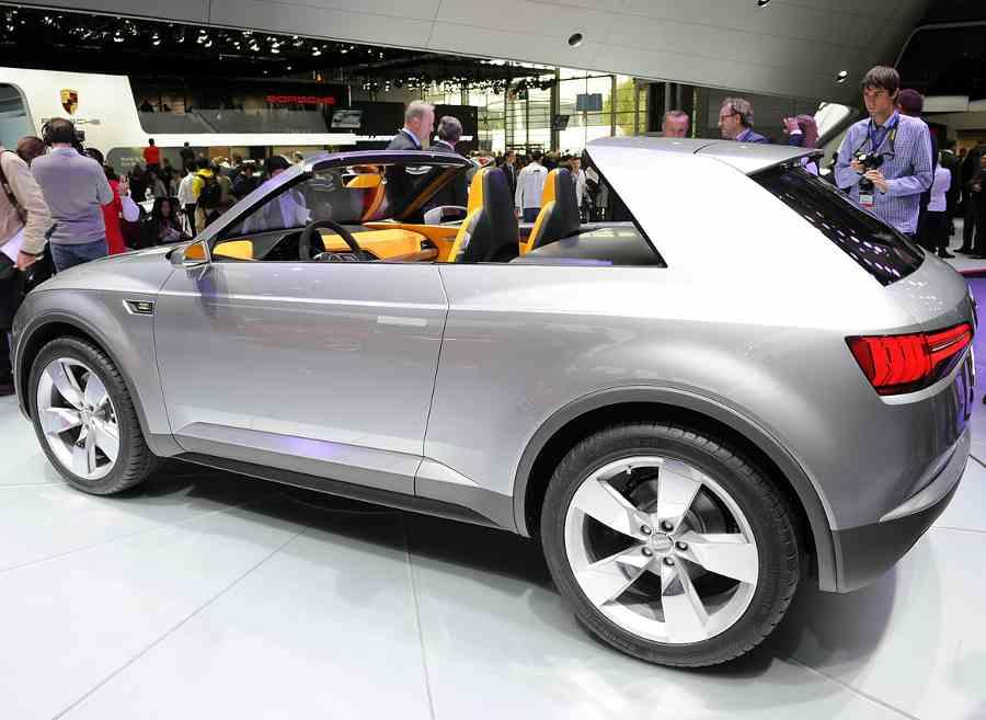 фото Audi Crosslane Coupe 2012 сбоку