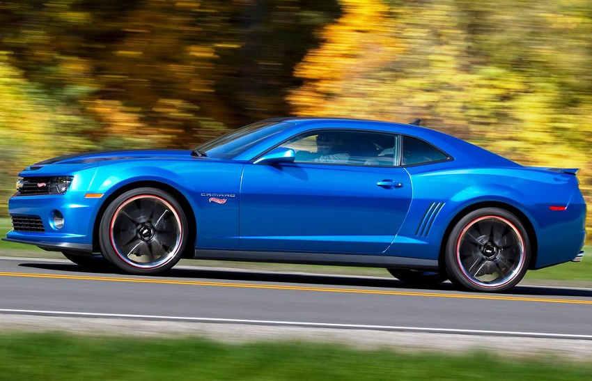 фото Chevrolet Camaro Hot Wheels Edition 2013 сбоку