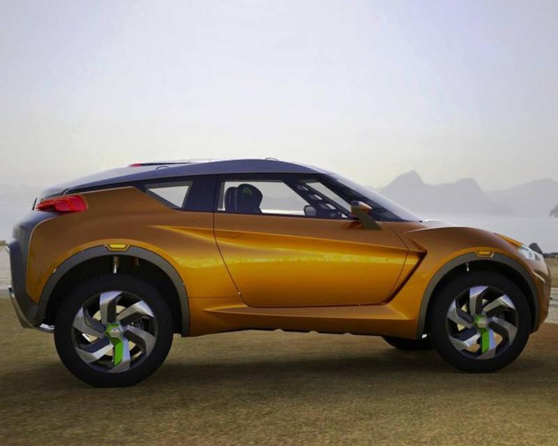 фото Nissan Extrem сбоку