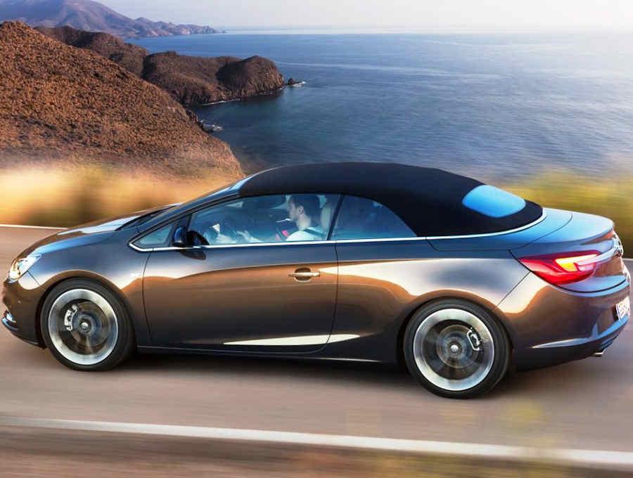 фото Opel Cascada 2013 сбоку