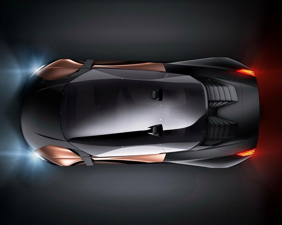 фото Peugeot Onyx 2012 сверху