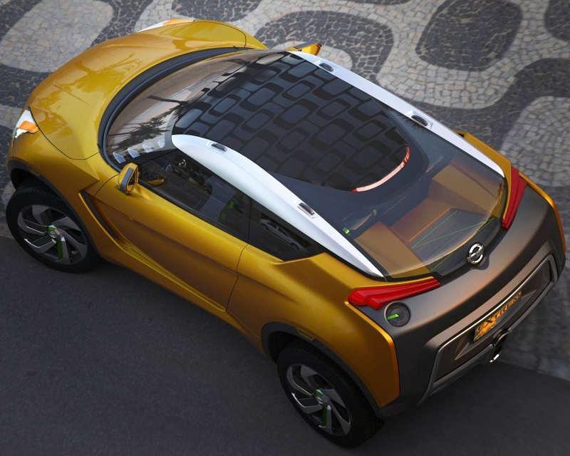 фото концепта Nissan Extrem 2012 сверху
