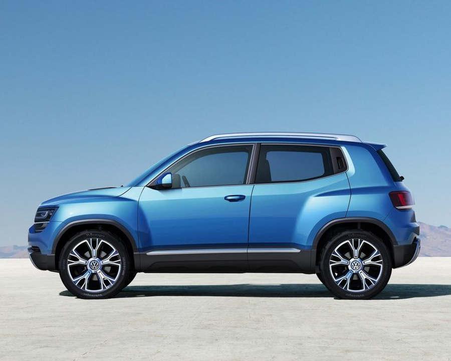 фото концепта Volkswagen Taigun сбоку