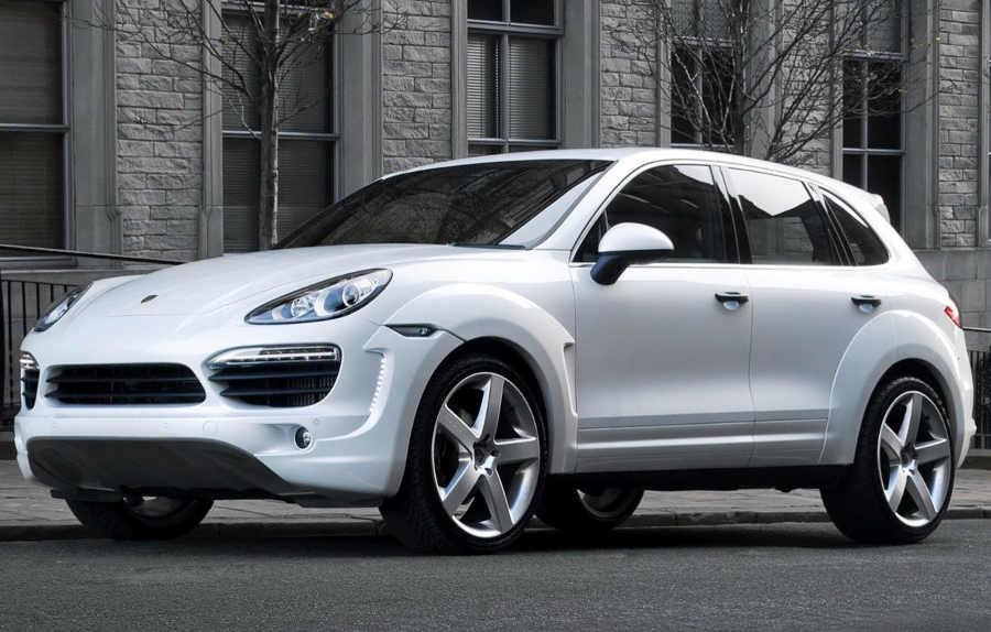 обвес для Porsche Cayenne Diesel
