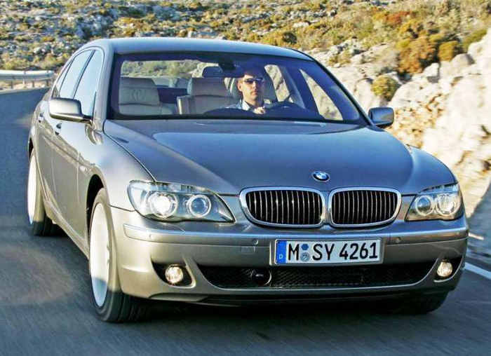 отзывают BMW 7-Series 2005-2008