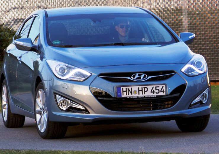 фото Hyundai i40 2012 Base