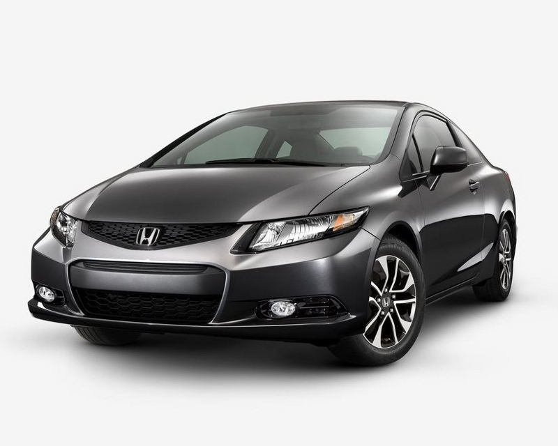Купе Honda Civic 2013 года