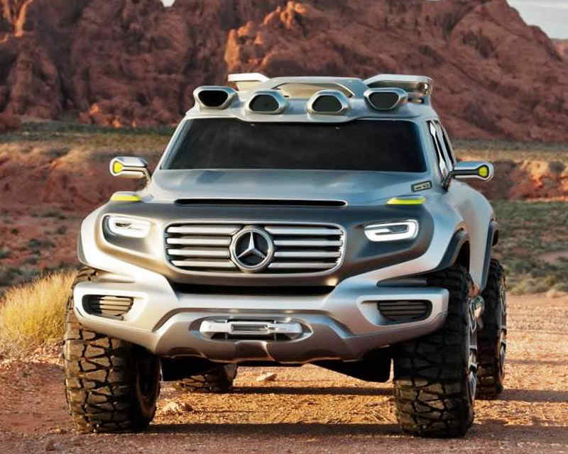 Mercedes Ener-G-Force 2012