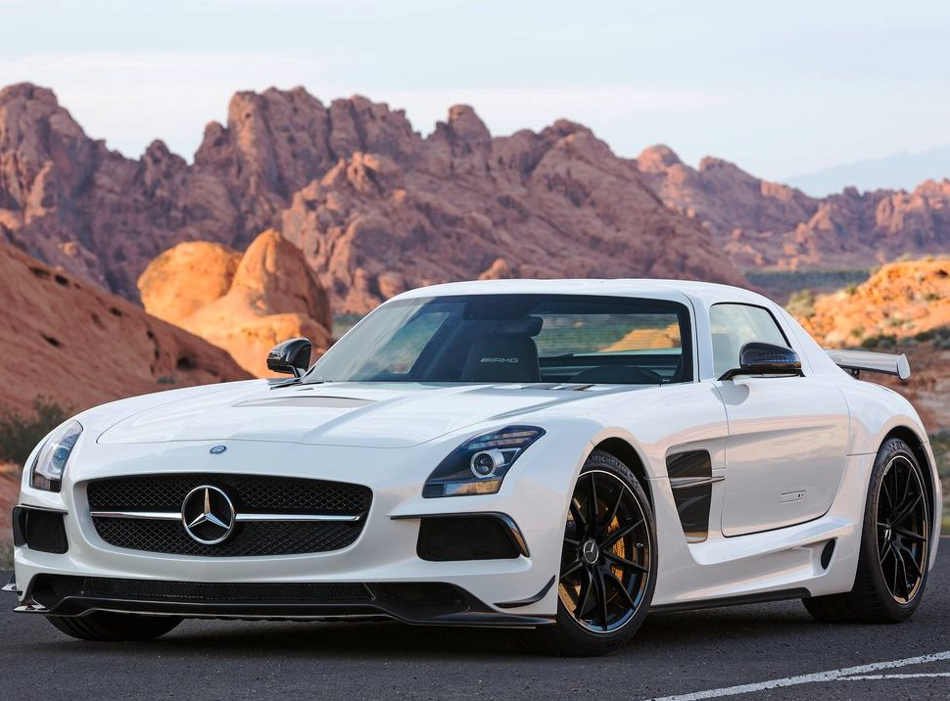 Mercedes SLS AMG Black Series 2014