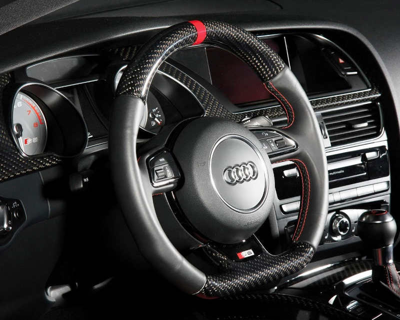 Новый руль Audi S5 2012