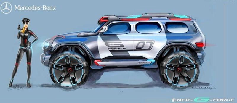Полицейский Mercedes Ener-G-Force