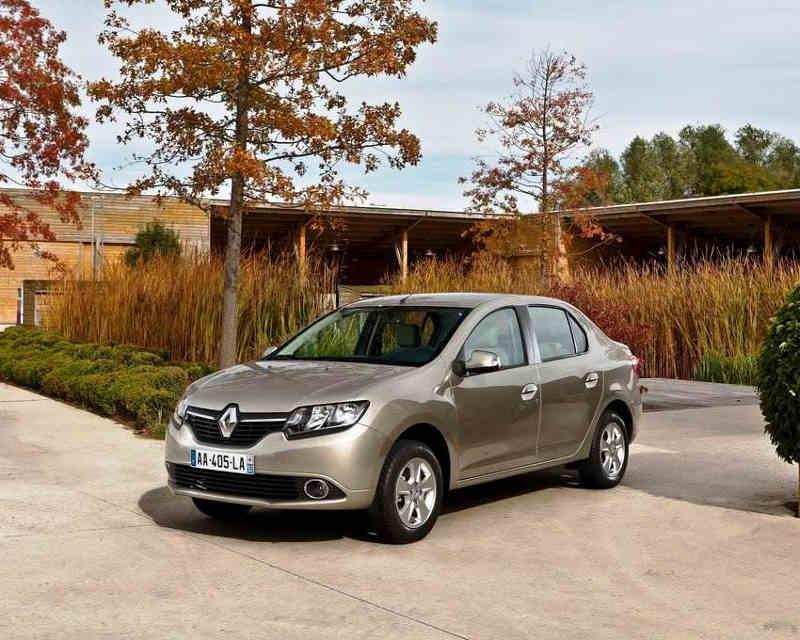фото Renault Symbol 2013 года