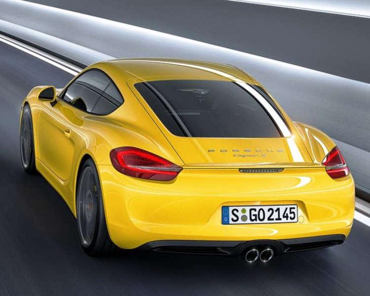 дизайн Porsche Cayman 2013