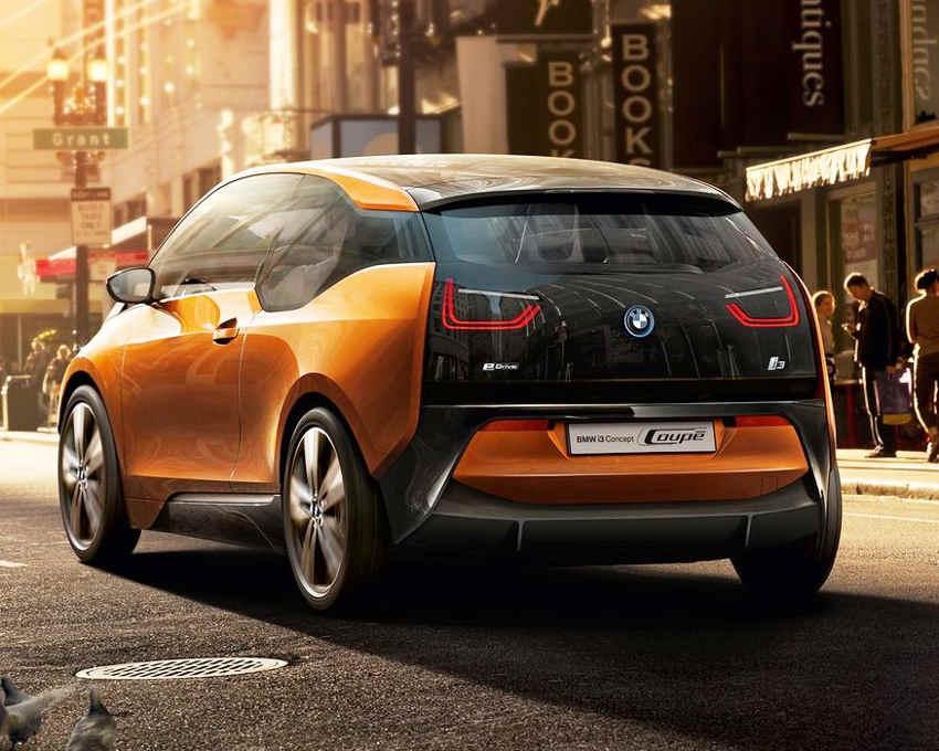 электромобиль BMW i3 2012