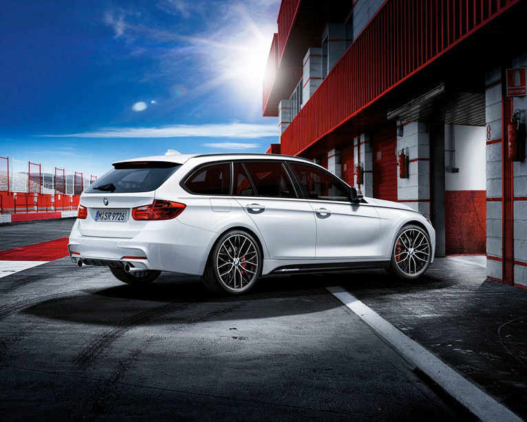 ещё фото BMW 3-Series Touring 2013 от M Performance