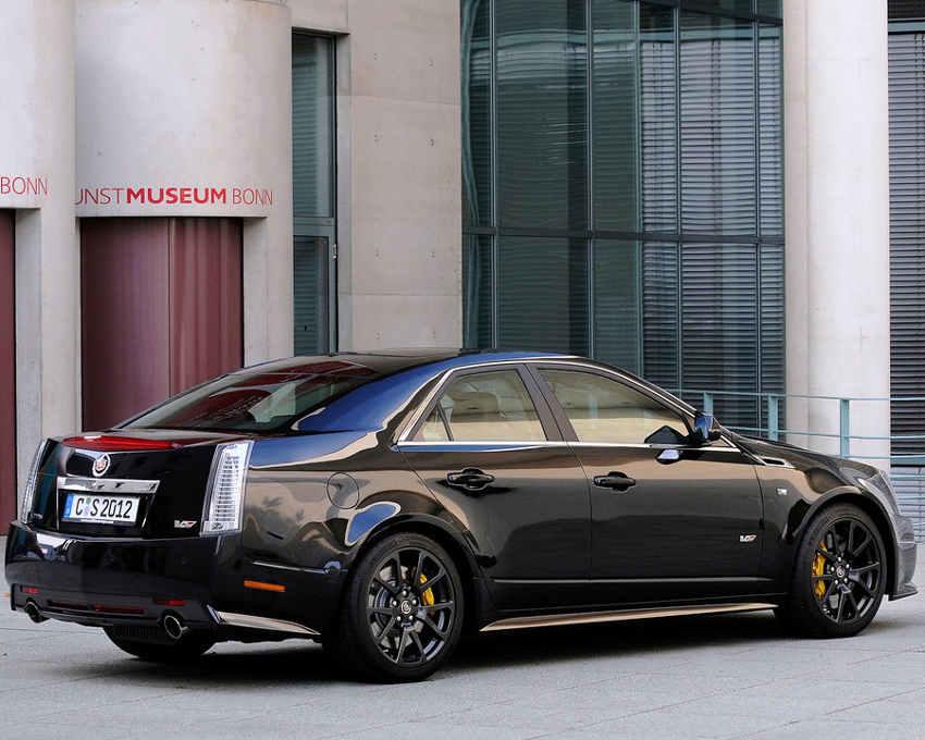 ещё фото Cadillac CTS-V в кузове седан