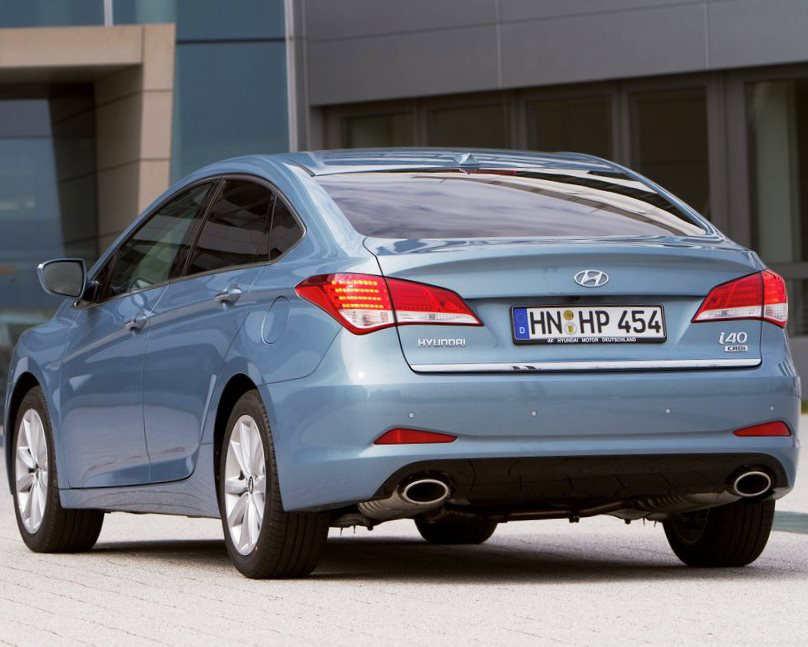 ещё фото Hyundai i40 2012 года