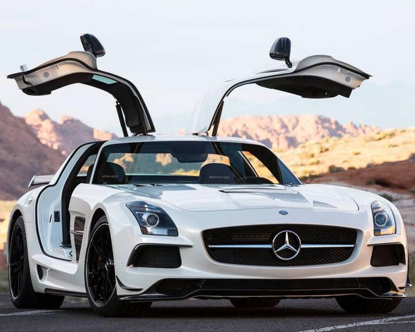 ещё фото Mercedes SLS AMG Black Series 2014