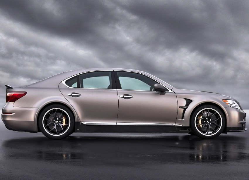 фото Lexus LS TMG Sports 650 сбоку