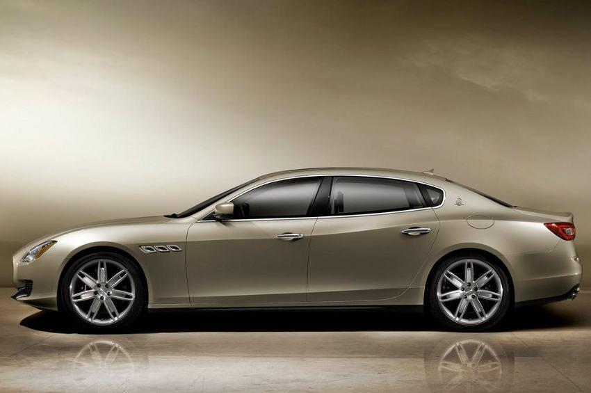 фото Maserati Quattroporte 2013 сбоку