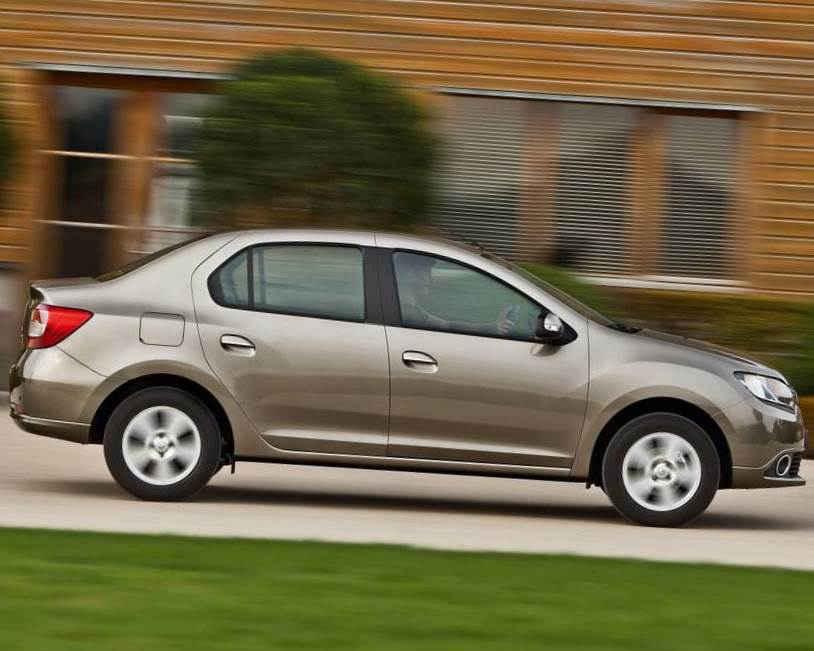 фото Renault Symbol 2013 сбоку