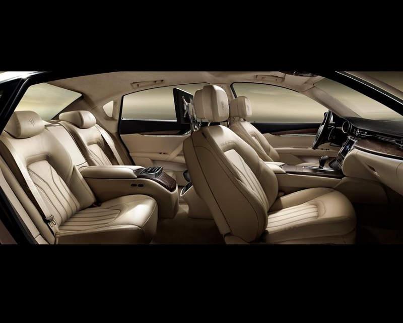 интерьер Maserati Quattroporte 2013 года