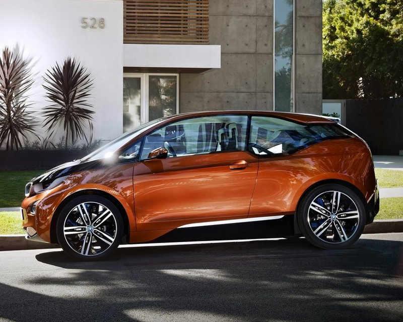 концепт купе BMW i3 2012