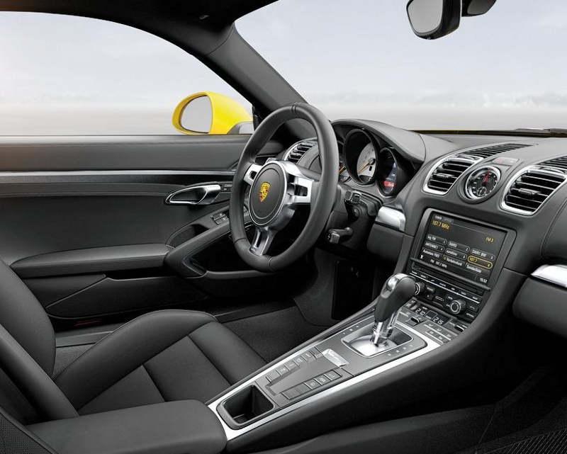 салон Porsche Cayman 2014