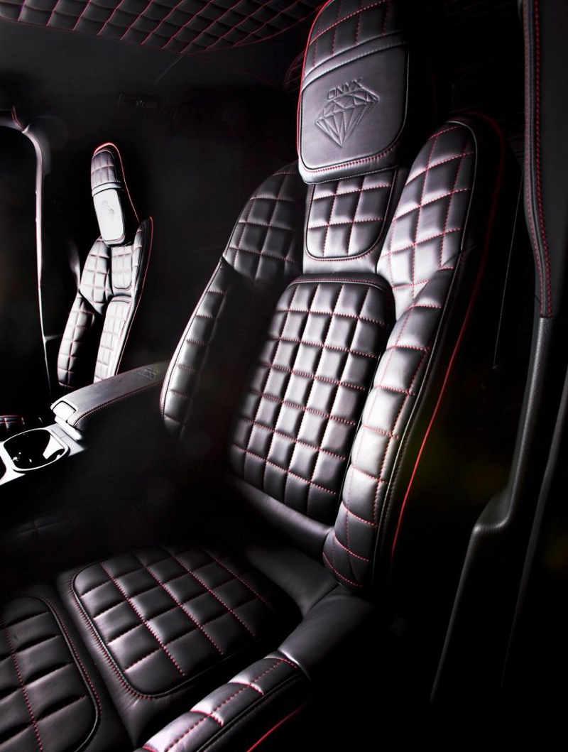 сидения Porsche Cayenne OTS Edition