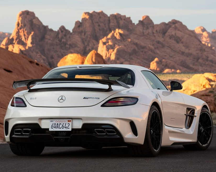 спойлер Mercedes SLS AMG Black Series 2014