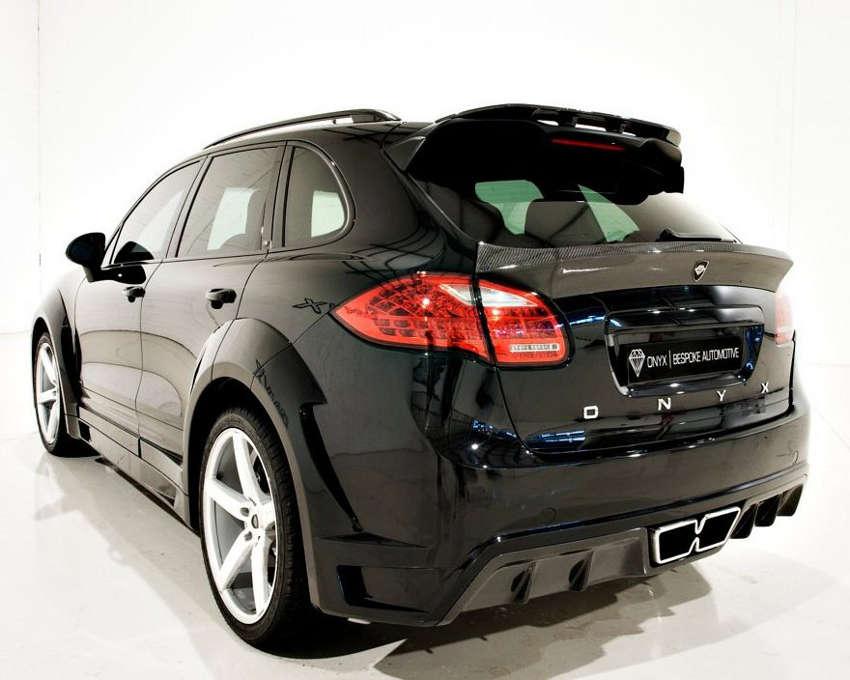 спойлер Porsche Cayenne OTS Edition