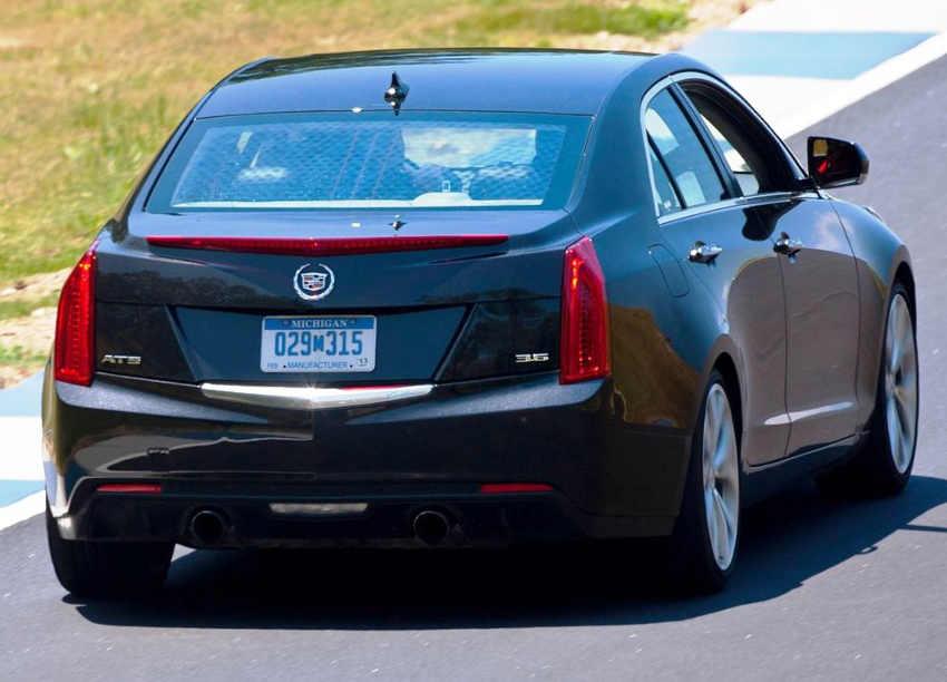 задние фонари Cadillac ATS 2013
